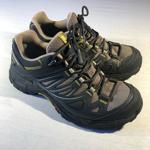 salomon hiking shoes womens gore tex